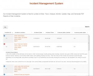 Incident Management System - Multiple Entries